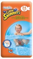EU  Huggies Little Swimmers 12-18kg 5-6 11ks