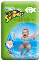 EU  Huggies Little Swimmers 7-15kg 3-4 12ks