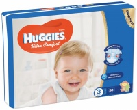 Kimberly-Clark Europe Ltd  HUGGIES Ultra Comfort Jumbo 3 5-8kg 58ks