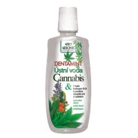 Bione Cosmetics Dentamint ústna voda Cannabis 500 ml