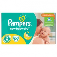Procter & Gamble  PAMPERS New baby dry 3-6kg 100ks