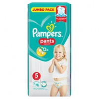Procter & Gamble  PAMPERS Pants Jumbo Pack 12-17kg 5 48ks