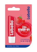 Beiersdorf AG  LABELLO Strawberry Shine tyčinka na pery 4,8g