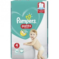Procter & Gamble  PAMPERS Pants 4 Giant Pack 9-15kg 62ks