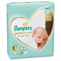 Procter & Gamble  PAMPERS Premium Care 1 Mini 2-5kg 78ks
